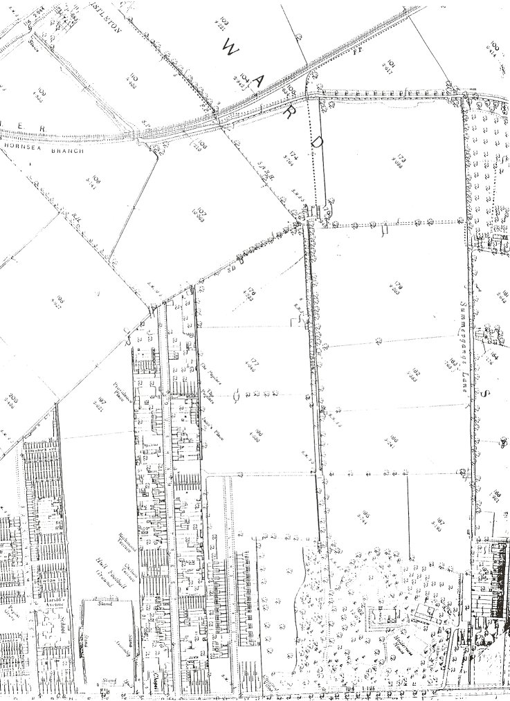 The Garden Village Area in 1888