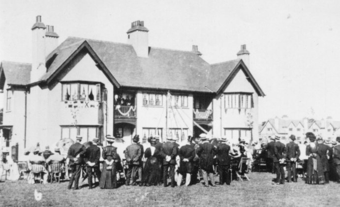 Opening of the Garden Village